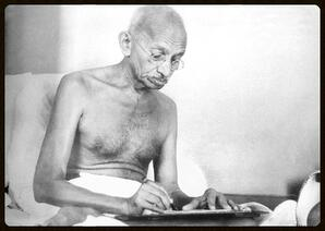 Ghandi_can_teach_us_how_to_write_better