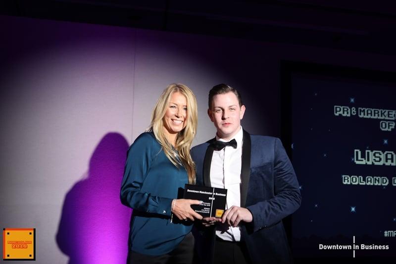 PR  Marketing Personality of the Year - Lisa Morton